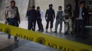 Bewaffneter in Zentralbank erschossen