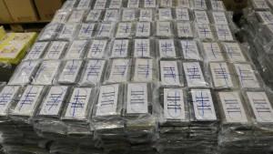 Zoll beschlagnahmt viereinhalb Tonnen Kokain