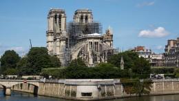 Die Spenden für Notre-Dame fließen nur langsam