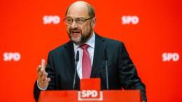 Schulz will SPD-Parteivorsitz künftig per Urwahl bestimmen