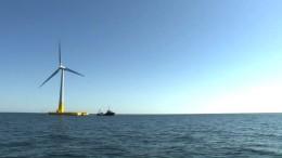 Frankreich setzt auf schwimmende Windräder