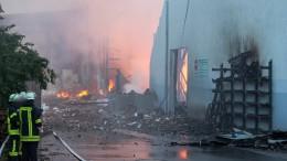 Bahnverkehr bei Fulda nach Großbrand eingeschränkt