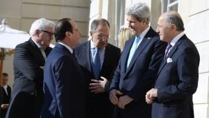 Amerika und Russland suchen das Gespräch