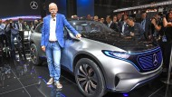 Daimler hat 2018 am meisten in die Elektromobilität investiert. Verantwortlich war dafür der damalige Daimler-Chef Dieter Zetsche.