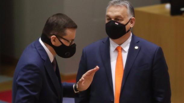 Einigung in Haushaltsstreit mit Polen und Ungarn