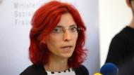Musste von ihrem Rücktritt überzeugt werden: Brandenburgs Gesundheitsministerin Diana Golze