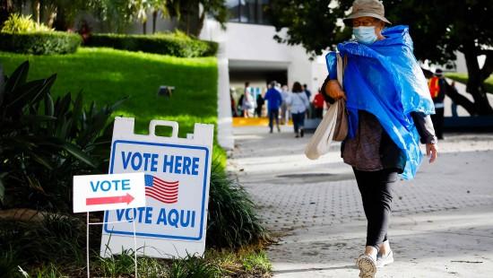 Ansturm auf Wahllokale in Florida
