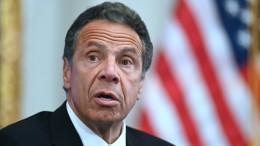 New Yorks Gouverneur der sexuellen Belästigung beschuldigt