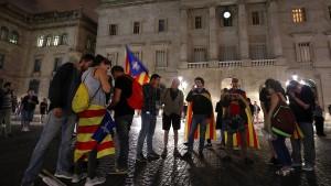 Verfassungsgericht verbietet Sitzung des katalanischen Parlaments