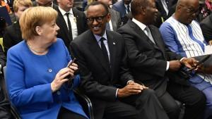 """""""Selbsttragender Aufschwung"""" in Afrika"""