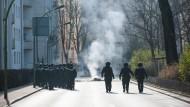 Krawall, Protest und ruhige Momente