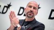 Uber-Chef Dara Khosrowshahi wirbt in Fernsehspots um Verständnis.
