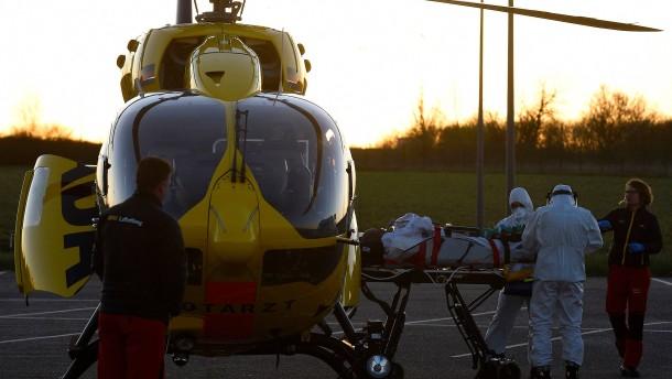 Uniklinik Mannheim nimmt französische Corona-Patienten auf