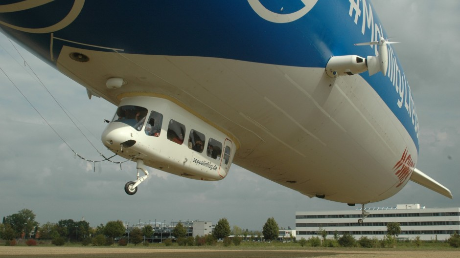 Die bis zu zehn Passagiere steigen nicht etwa am Airport Frankfurt ein, sondern in Bad Homburg.