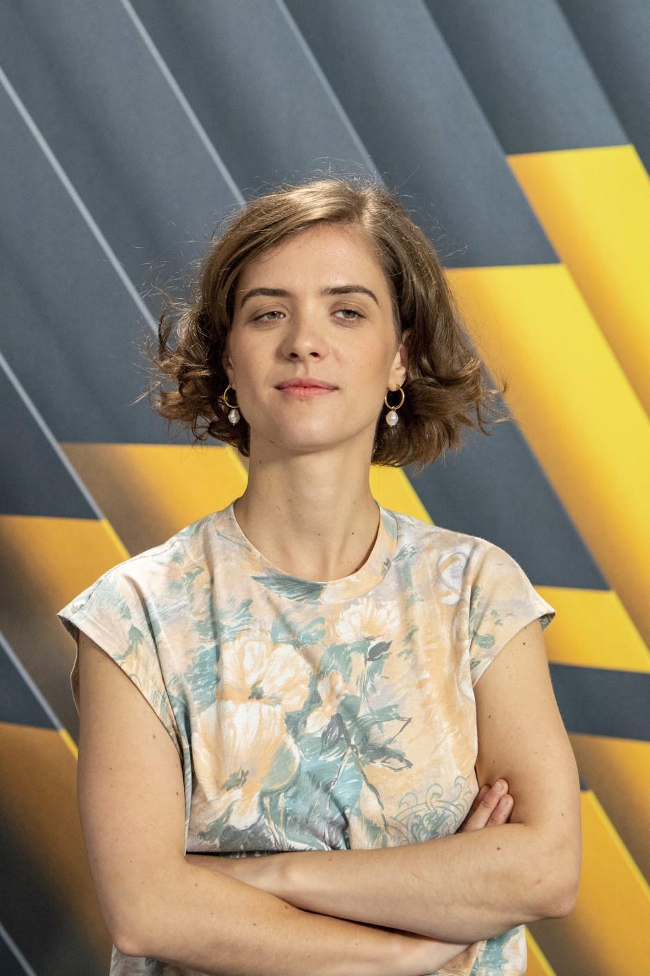 Ein unverwechselbares Gesicht: die Berliner Schauspielerin Liv Lisa Fries – Anfang August beim Filmfestival in Locarno
