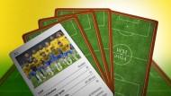 Das Quartett zur Fußball-WM