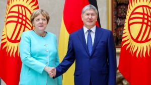 Merkels Besuch fernab der Weltpolitik