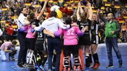 Deutsche Damen sind Weltmeister, Männer sauer