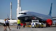 Boeing-Flugzeuge werden kürzer und breiter