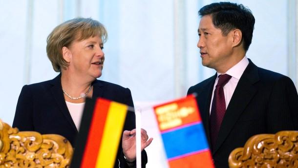 Deutschland sichert sich Rohstoffe in der Mongolei