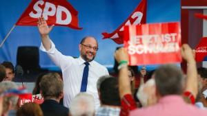 SPD holt vor TV-Duell etwas auf