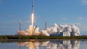 SpaceX-Rakete stürzt ins Meer