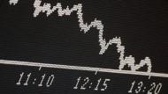 Kursausschläge verunsichern viele Anleger