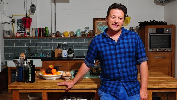 Fleischfan Jamie Oliver verkauft vegetarisches Kochbuch
