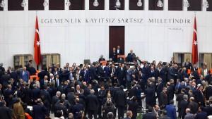 Mehrheiten für erste Artikel der Verfassungsreform