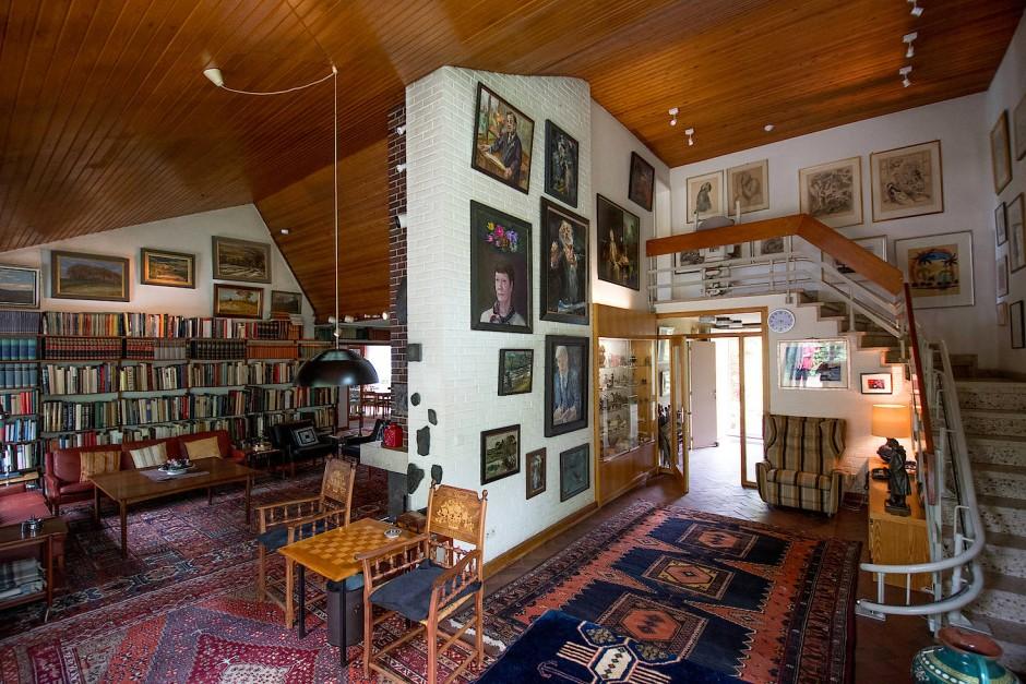 Brahmsee Helmut Schmidt Haus