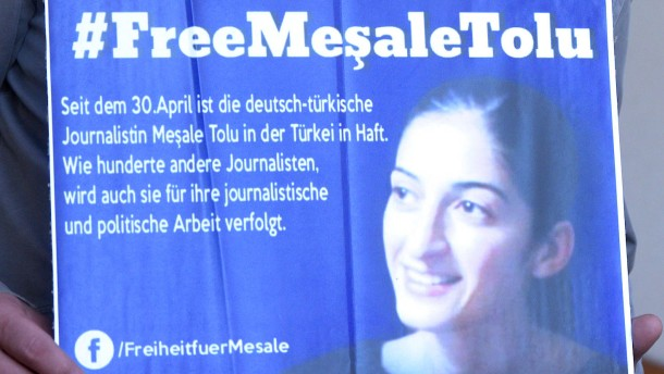 Meşale Tolu hat noch immer keinen Kontakt zu deutschen Anwälten