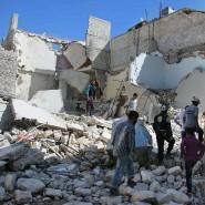 Von wegen nur Präzisionswaffen: Bilder wie dieses zeigen die gewaltige Zerstörung im umkämpften Aleppo.