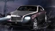 Beim Rolls Royce-Coupé Wraith sind die Kunden experimentierfreudig: Jeder zweite Besteller will zwei Farben.