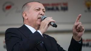 Erdogan nennt Frauentagsmarsch respektlos gegenüber Islam