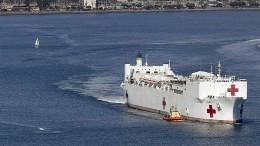Lazarettschiff im Corona-Einsatz