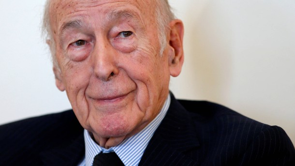 Früherer französischer Präsident Valéry Giscard d'Estaing gestorben