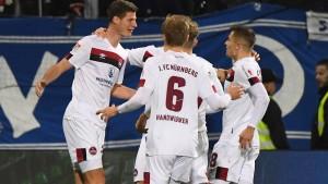Nürnberg und Dresden punkten im Abstiegskampf