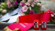 Immer wieder ein aktuelles Thema: Ehrenmorde wie der 2005 an Hatun Sürücü begangene. Im Bild ein Gedenkstein zu Ehren des Opfers.