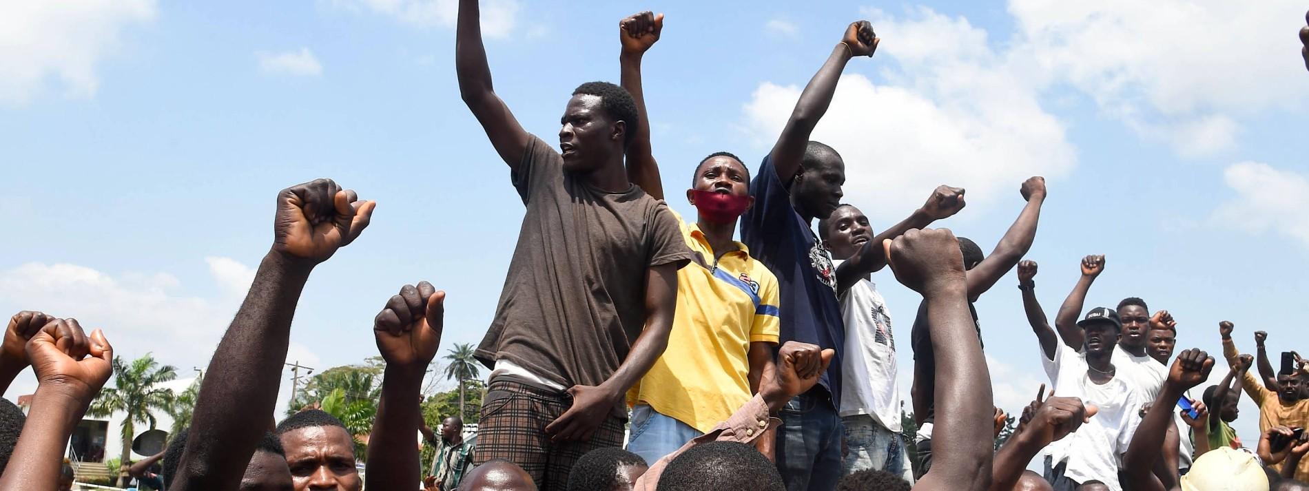 Eine Protestbewegung wird in Blut ertränkt