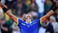 Macht er sich unsterblich? Rafael Nadal kann am Sonntag in Paris zum zehnten Mal die French Open gewinnen.