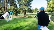 Von der Sonne verwöhnt: das Golfturnier in Kronberg