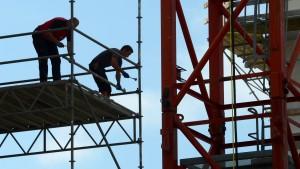 Löhne auf hessischen Baustellen besonders niedrig