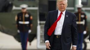 Trump gewährt kleinen Einblick in seine Finanzen