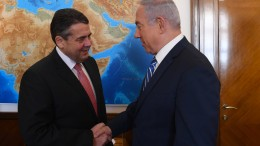 Gabriel trifft Netanjahu