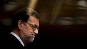 Rajoy zum spanischen Ministerpräsidenten gewählt