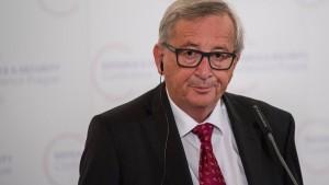 Juncker will ersten europäischen Staatsakt für Kohl