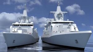 Neue Kriegsschiffe werden teurer