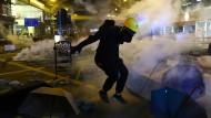 Die Protestbewegung in Hongkong zieht bereits seit über fünf Monaten gegen eine vermeintliche Aushöhlung ihrer Freiheiten durch Festlandchina auf die Straße.