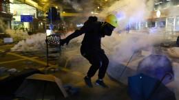Peking sieht Entscheidungsgewalt über Verfassung Hongkongs alleine bei China