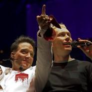 Bela B. und Farin Urlaub im Dezember 2011 bei einem Konzert in Dortmund